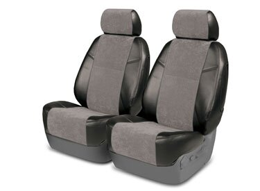 Custom Seat Covers Alcantara for  Ford E-150