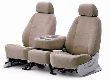 Custom Seat Covers Suede for  GMC Safari Extended Length Minivan