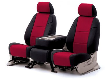Custom Seat Covers Neoprene for  Ford P71 Police Interceptor