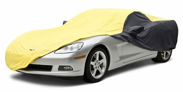 Custom Car Cover Satin Stretch for  Ford Super Deluxe