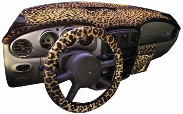 Custom Tailored Dashboard Covers Designer Velour for 2007 Chevrolet Corvette