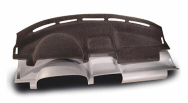 Custom Molded Carpet Dashboard Covers for 2013 Nissan Versa