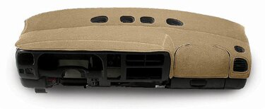 Custom Tailored Dashboard Covers Polycarpet for  GMC Syclone