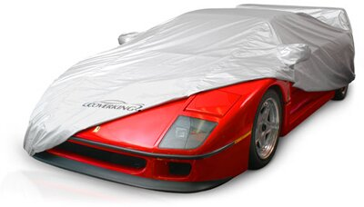 Custom Car Cover Silverguard for  Plymouth Model PC