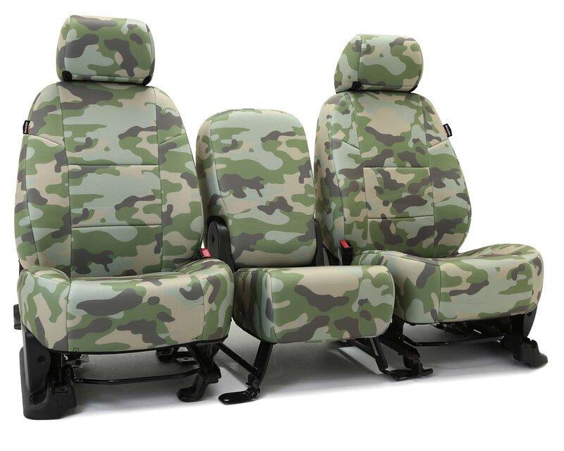 Custom Seat Covers Traditional Camo for  Mitsubishi Galant