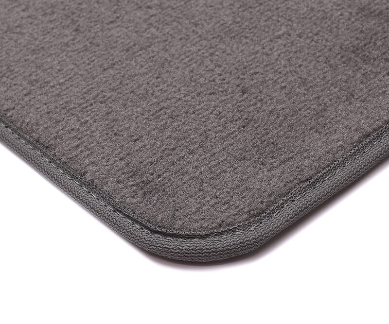 Premium Plush Designer Floor Mats for 2017 Toyota Highlander