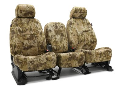 Custom Seat Covers Kryptek Neosupreme for  Ford E-350 Econoline Club Wagon