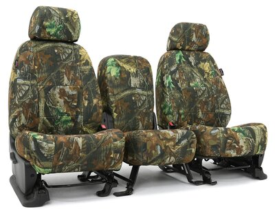 Custom Seat Covers Realtree Camo for  Ford E-350 Econoline Club Wagon